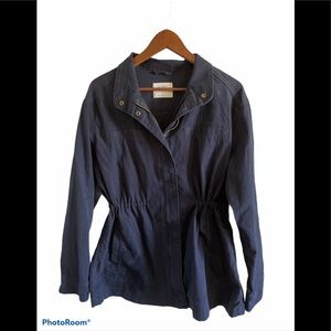 Old Navy blue light weight utility jacket